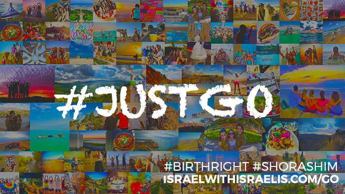 It's time to #JustGo